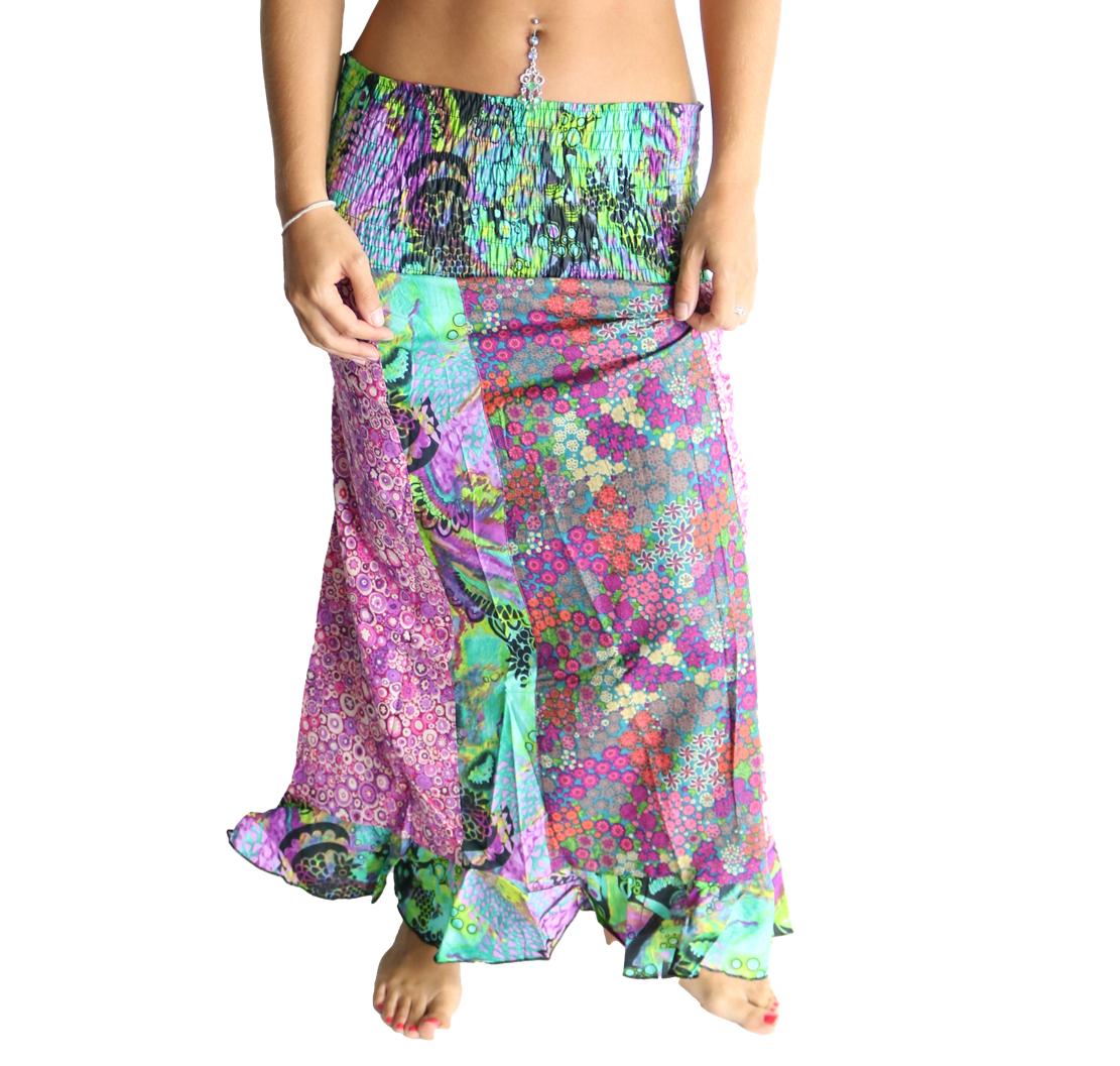 Jupe-bustier-motifs-ethniques-imprime-multicolor-prix-mini