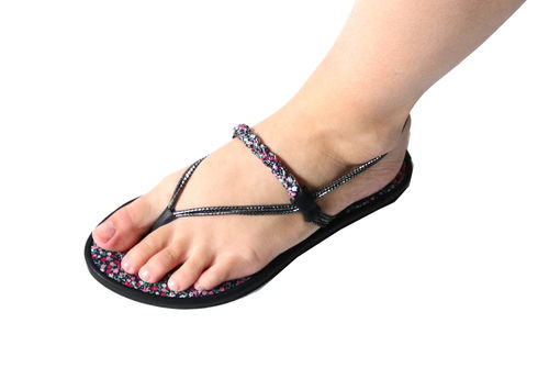String Tong SLIDES Liberty - pink