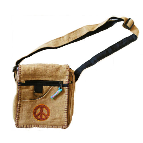 Sac 603 beige peace and love