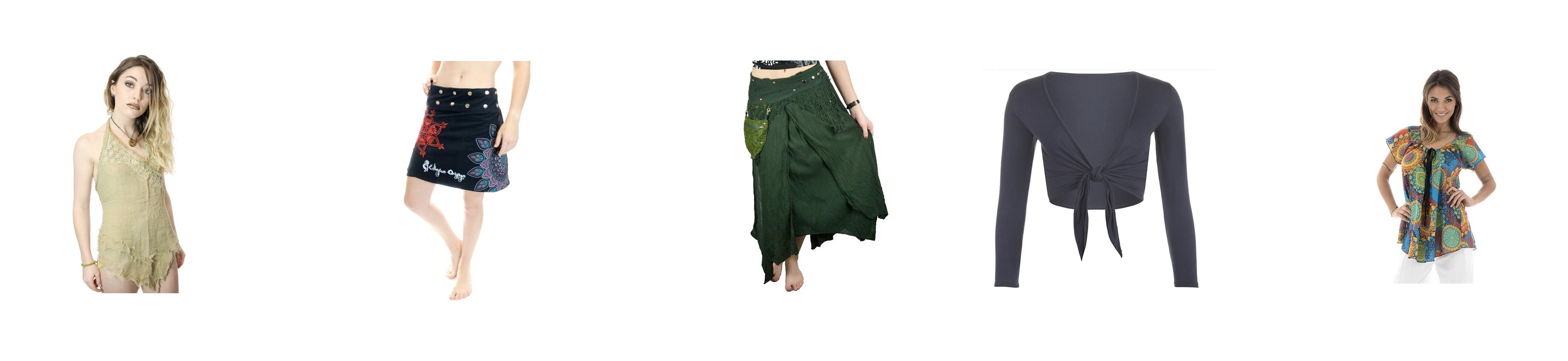 super popular ac422 3bd02 ... noir carbone chiné femme jupes  Jupe et haut femme ethnique -  indiennes, népalaises, hippies, top  air jordan banned 1 ...